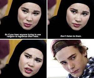 chris, muslims, and skam image