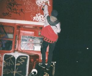 grunge, graffiti, and boy image
