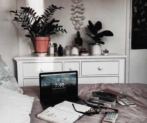 room, decor, and study image