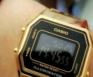casio, tumblr, and watch image