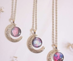 collar, luna, and galaxia image