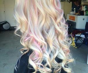 beautiful, hair, and long image