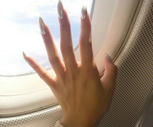 nails, travel, and tumblr image