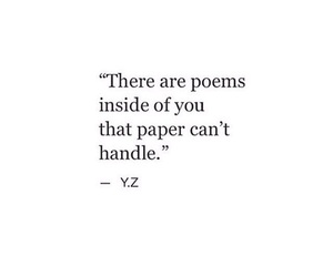 quotes, poem, and Paper image