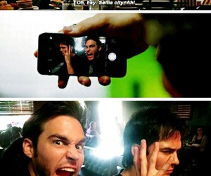 besties, ian somerhalder, and vd image