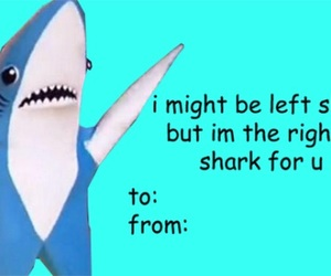 katy perry, shark, and valentine image