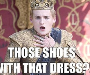 shoes, game of thrones, and dress image