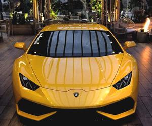 Lamborghini, yellow, and car image