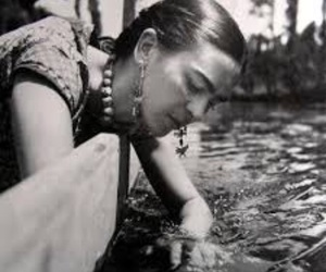 black and white, frida kahlo, and old image