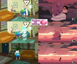 adventure time and steven universe image