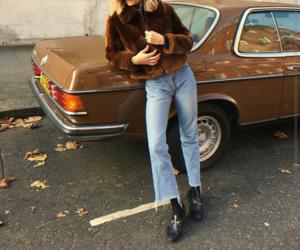 fashion, car, and vintage image