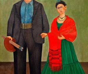 frida kahlo, Diego Rivera, and art image