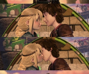 astrid, moments, and kiss image