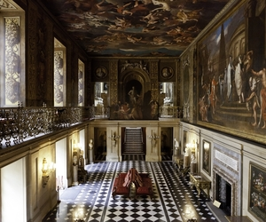 chatsworth house, derbyshire, and Great Britain image