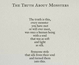 monster, quotes, and nikita gill image
