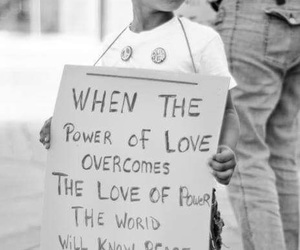 peace, love, and power image
