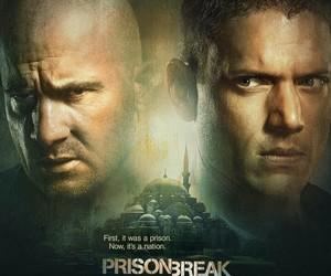 break, prison, and prison break image