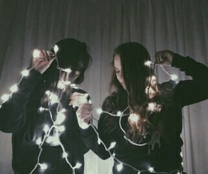 bff, goals, and lights image