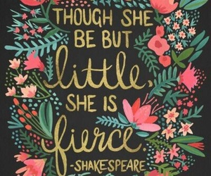 quotes, shakespeare, and fierce image