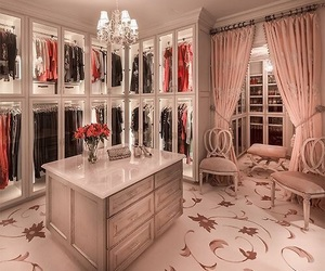luxury, closet, and clothes image
