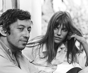jane birkin, serge gainsbourg, and couple image