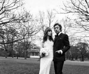 Jane Birkin Wedding Dress