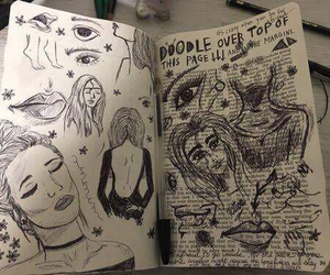 art, aesthetic, and doodle image
