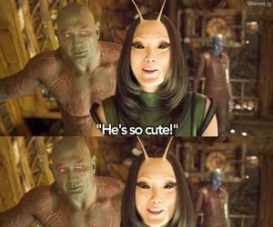 mantis, Marvel, and pom klementieff image