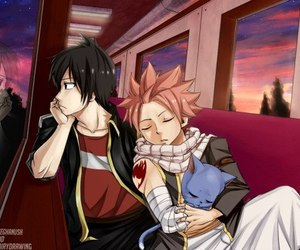 fairy tail, zeref, and happy image