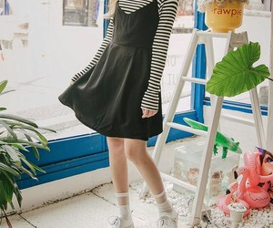 asian and dress image