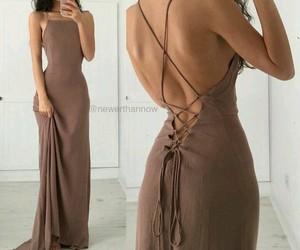 beauty, tan, and dress image