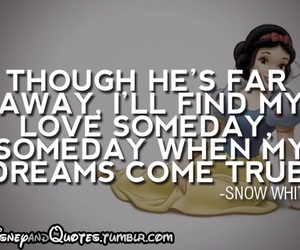disney, snow white, and quote image