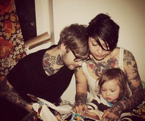 tattoo, family, and couple image
