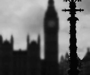 black and white, london, and a darker shade of magic image