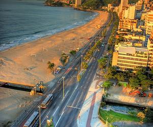 beach, rio de janeiro, and brazil image
