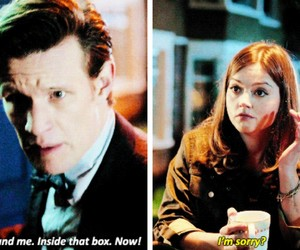 cheeky, doctor who, and flirt image