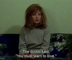 love, quotes, and doctor image