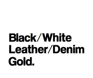 leather, black, and denim image