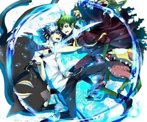 rin, anime, and ao no exorcist image