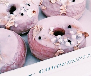 yum, dessert, and donuts image