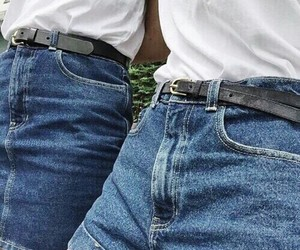 jeans, style, and blue image