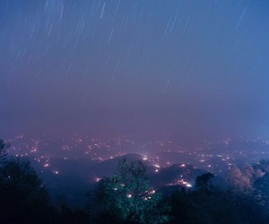 grunge, light, and sky image