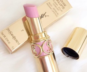 pink and lipstick image