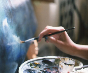 art, painting, and paint image