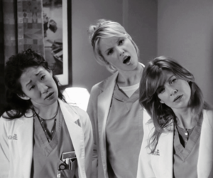 cristina yang, grey's anatomy, and izzie stevens image