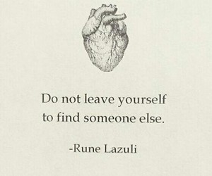 quote, heart, and life image