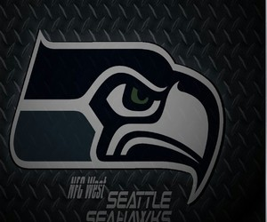 football, seattle, and seahawks image