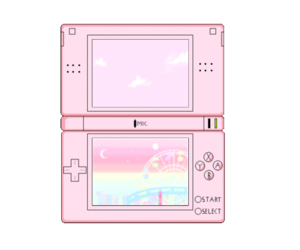pink, ds, and pastel image