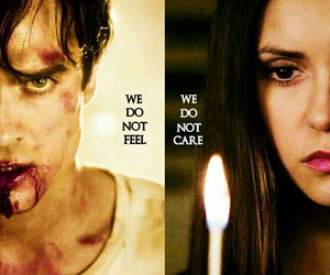 edit, delena, and the vampire diaries image