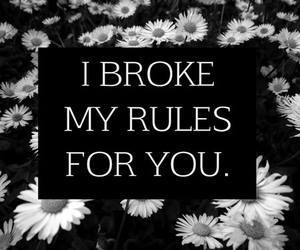 rules, quotes, and broke image